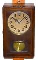 佐藤時計 箱型柱時計 昭和20年代後半頃【W203】