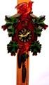 手塚時計 木製鳩時計 POPPO 昭和40年代【W088】