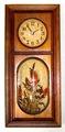 DESIGNS IN TIME(アメリカ) 木製ウォールクロック 1960年代終盤〜70年代【W069】