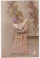 アンティークポストカード/r8001w