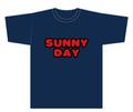 「サニーデイ・サービス SUNNY DAY Tシャツ」(T-shirt/navy)