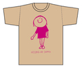 「KIDSサイズ ソカベくんT-shirts」(T-shirt/beige)