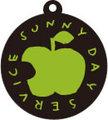 SUNNY DAY SERVICE APPLE キーホルダー (PVCキーホルダー)