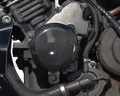 ホーネット250エンジンプロテクター(カーボンケプラー)