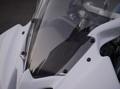 FZR250R(3LN)「R6レプリカ」用メーターバイザー/黒ゲル