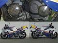 90~CBR250RRエンジンプロテクター(カーボンケプラー)