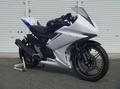 2012 YZF-R15 フルカウル/レース/白ゲル