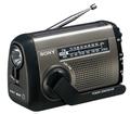 手回し充電機能付き ラジオ SONY ICF-B88