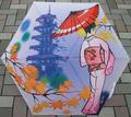 日本文化 折りタタミ傘 京都