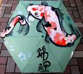 日本文化 折りタタミ傘 鯉