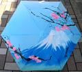 日本文化 折りタタミ傘 富士山