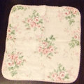 Towel Handkerchief (Pink Rose)