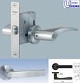 【 U-SHIN・SHOWA 】ユーシン・ショウワ LL-15-LH152-S32P-BS50mm-DT30-40mm レバーハンドル錠