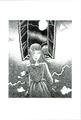 ポストカード「青い服の少女」