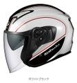 OGK エクシード・デリエ ヘルメット Lサイズ WHITE/BLACK