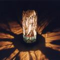 ステンドグラス八角行灯 『水の輝き』