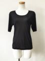 脇 アトピー 原因の蒸れ 痒み対策に 下着 半袖シャツ シルク絹100%