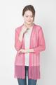 アトピー滲出液 汗 蒸れ 対策に 羽衣みたいに軽い ガーゼカーディガン 絹シルク100% 7分袖ロング 送料無料