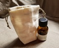 麻のアロマ瓶袋