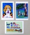 ムツさん&Friends ◆ポストカード3枚組