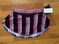 パンツ付きスカート / BLACK & PINK STRIPE