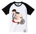 みかんR×HOT MILK×思春期マーブル バードTシャツ