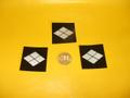 武田菱(印刷シール)3枚セット
