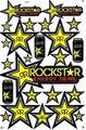 ROCKSTAR (ロックスター) ステッカー B5  N184