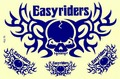 EASYRIDERS ステッカー B5 N104