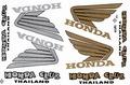 HONDA WING ステッカー B5 N168
