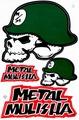METAL MULISHA(メタル マリーシャ)  ステッカー B5 N215