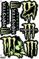 MONSTER ENERGY(モンスターエナジー) ステッカー B5 N130