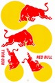 Red Bull レッドブル ステッカー B5 N193