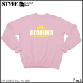 B Lion REBOUND-Sweat(Light pink)