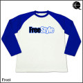 FreeStyle-LongT(White×Blue)