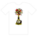 """SUIKO x oilworks """"Pull Yourself"""" T-SHIRTS / RED"""