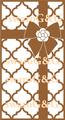 モロッカン・プレゼントリボン白×ゴールド系