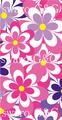 花柄 ピンク系