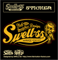 SWELL-SS sticker girlパターン