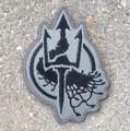 Embroidered Costa Insignia Grey