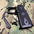 GK Tactical 東京マルイ ハイキャパ用STI タイプナイロングリップ Black