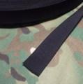 1inch Webbing BLACK 1メートル