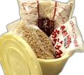 手作り【麦】味噌セット(3㎏用)★タル付