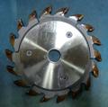 木工用調整式チップカッター 兼房製 4.5mm~7.5mm  調整用間座付 たて・よこ溝加工