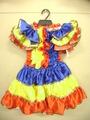 サンバ踊りツーピースドレス