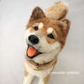完全受注製作・30cm犬猫マスコット≪お座り・四つ足立ちポーズ≫
