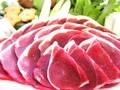 イノシシ肉モモ500g(スライス)しゃぶしゃぶに!