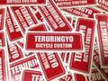 """TERURINGYO Type 2 ステッカー 小 """"レッド×ホワイト"""""""