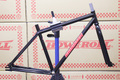 "BROOKLYN MACHIN WORKS GANG STA FRAME SET ""GLOSS BLACK"" SHORT"