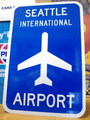 【30%OFF!!】AIRPORT STREET SIGN~SEATTLE~